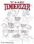 The Tenderizer cover page by JIM-SWEET