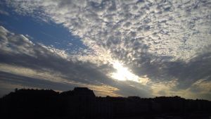Sky at morning by wrorschach