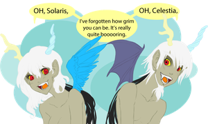 MLP - Eris and Discord by ZOE-Productions