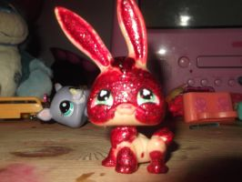 Lps Fire Bunny by Puffypaw
