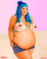 Katy Perry - California Gurls BBW by xmasterdavid