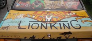 Lion King Car Project Trunk by MsGhia