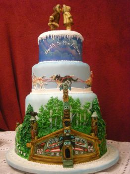 Alaska Wedding Cake Front by The-EvIl-Plankton