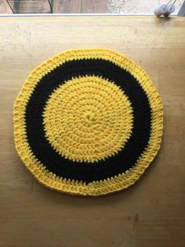 Hufflepuff-Inspired Heat Pad by A-Passionate-Flame