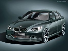 BMW e60 - tuning kit by Rykunov