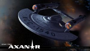 Star Trek Axanar U.S.S. Hermes Wallpaper 1 by stourangeau