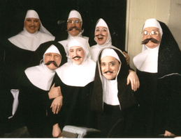 I PHOTOSHOPPED NUNS WITH MUSTACHES! YES! by Jugglingwithfire