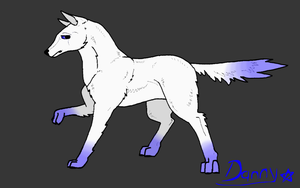 Danny (Male Wolf) by pegasus20101000