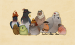 Bird Fortress 2 by aarnis