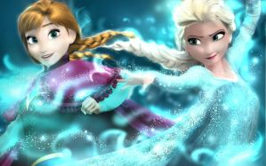 Elsa and Anna by CabbyStudios