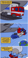 Arrival to Earth... literally by RazzieMbessai