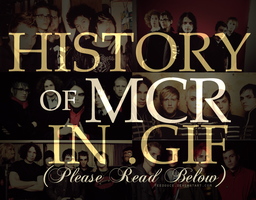History of MCR in .GIF by FeeDouce