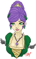 Ma Cherie Lis Bust by TiltedHaloPs44