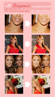 37 PSD Beyonce HEAT coloring by OumBoJae