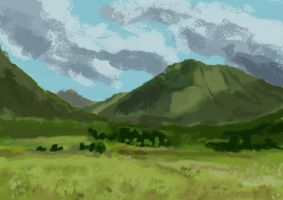 Speedy Photostudy - Countryside by ZacharyHogan