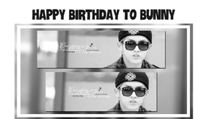 HAPPY BIRTHDAY TO BUNNY [141001] by MonCat-HwangJun