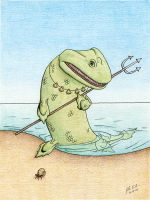 Tiktaalik Hunter by JohnRaptor