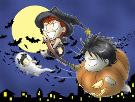 Halloween Hanamichi by umitaro