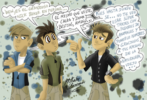 Art Trade - Nick Wild Baker Kratt by MRottweilerDogBarks