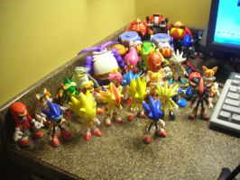 My Jazwares Sonic Figures 5 by SpikeHedgelion8