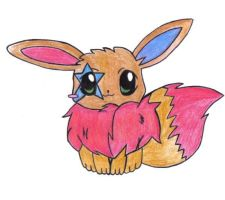 Jackstar the Eevee by jackstar93
