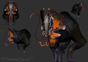 Speedsculpt 2 - Flowerface by TiJiL