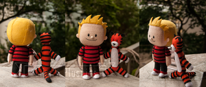 Calvin and Hobbes by Pumpkin-Candy