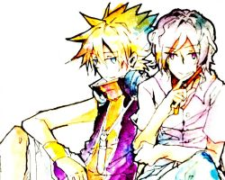 TWEWY-[Neku and Joshua] by 12Cold