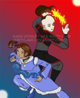 Avatar: The Sun and the Moon by MistyLake