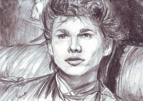 M.H. a-ha singer by ClairBlueArt