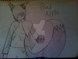 Sketchbook: Bad apple by sonicspeed123