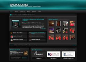 SPAMARAMA Website v2 by Axertion