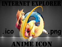 Internet Explorer anime icon by grny