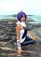 Yoruichi cosplay by Rinecos