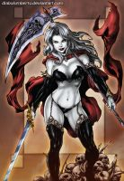 Lady Death by diabolumberto