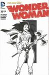 Wonder Woman Sketch Cover by NinjaSpidey