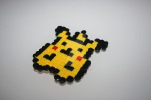 Pokemon #025 - Pikachu (Small) by badger-creations
