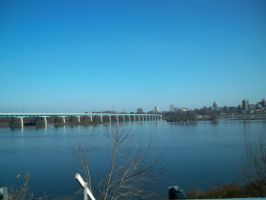 Harrisburg from afar by LexyLou16