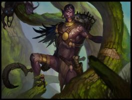 collector of skulls by Gimaldinov