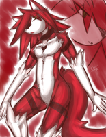 Mr Red's older appearance. by darkmagician1212