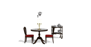 Dinner Tables and tea cups download by snowcherryloveheart