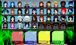 Super Slash Sisters Roster. by TheArchosaurQueen