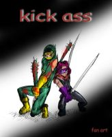 Kick Ass Fan Art by kiokusanagui