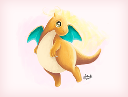 Dragonite by michelle-miranda