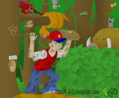 Pizza Delivery - Wacky Jungle by K-S-O