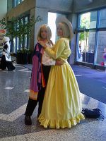 Fanime 10: Howl and Sophie by theEmperorofShadows