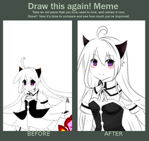 Before and after meme by In3ity