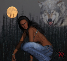 Leah Clearwater by Kristafee
