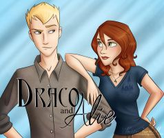 Draco and Alie by Whisperwings