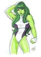 She-Hulk by patrickfinch by cerebus873